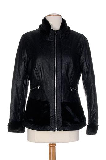 garella vestes femme de couleur noir