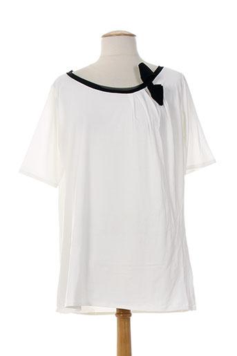 alpha studio t et shirts et tops femme de couleur beige