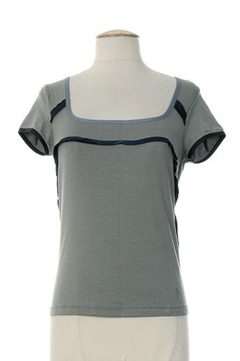 cerruti 1881 t-shirts femme de couleur gris
