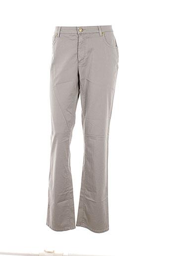 cerutti pantalons femme de couleur gris