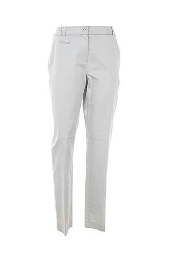 franco et cimadamore pantalons et citadins femme de couleur gris