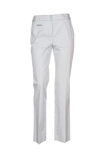 franco cimadamore pantalons femme de couleur gris
