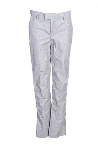 little couture pantalons garçon de couleur gris