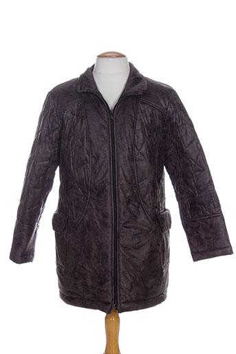 Manteau long marron CHRISMAS'S pour femme