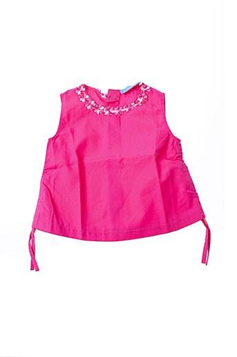 archimede tops fille de couleur rose