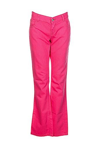 soeur pantalons fille de couleur rose