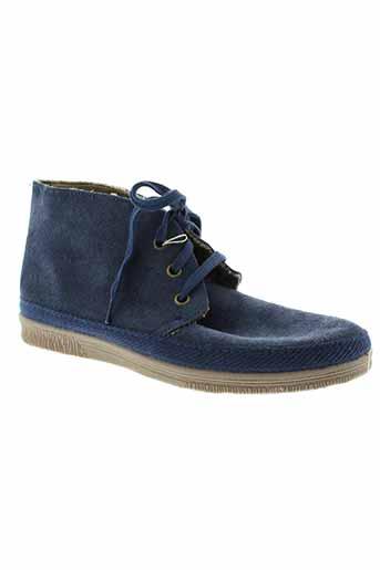 natural et world boots unisexe de couleur bleu
