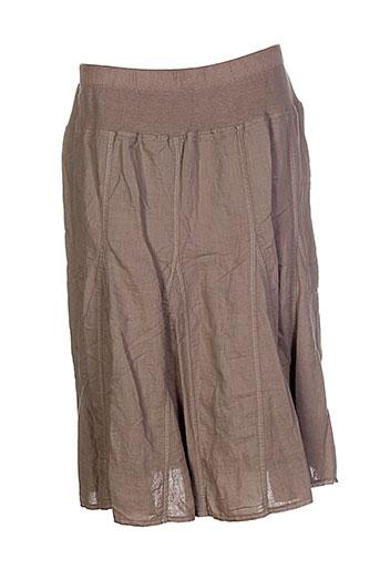 danny jupes femme de couleur marron