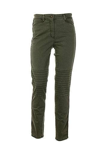 bianca pantalons et decontractes femme de couleur gris