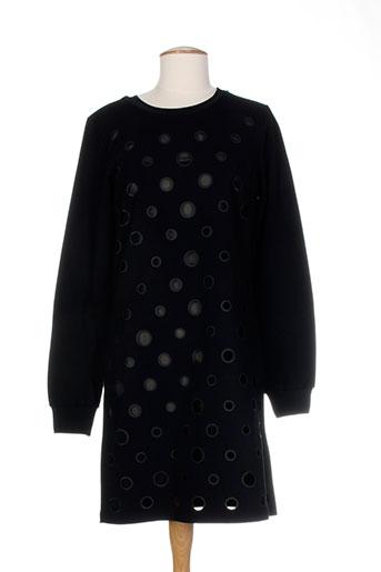 Tunique manches longues noir COSTUME NEMUTSO pour femme