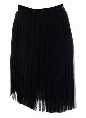 Jupe mi-longue noir COSTUME NEMUTSO pour femme