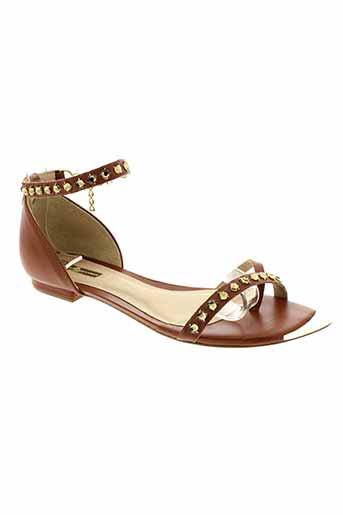 jorge bischoff chaussures femme de couleur marron