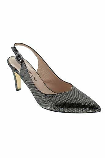 mauro teci chaussures femme de couleur noir