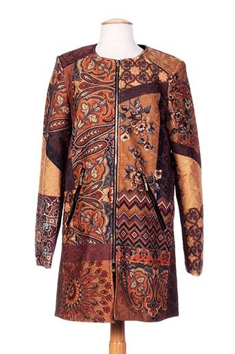 101 et idees manteaux et longs femme de couleur marron (photo)