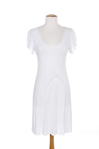 charlie joe robes femme de couleur blanc