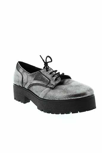 naye chaussures femme de couleur gris