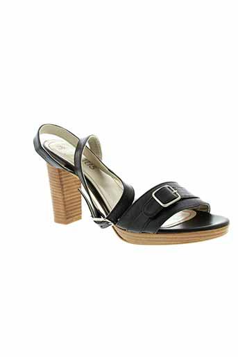 créatis chaussures femme de couleur noir