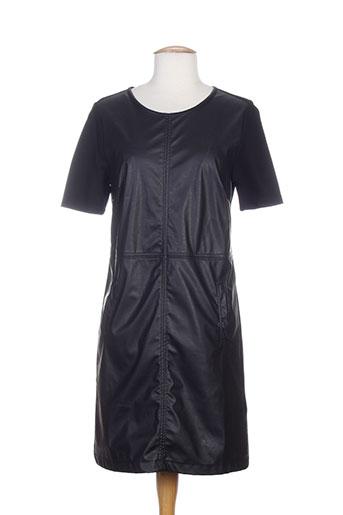 Robe mi-longue noir DIPLODOCUS pour femme