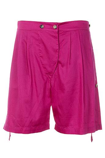 kenzo shorts / bermudas femme de couleur rose