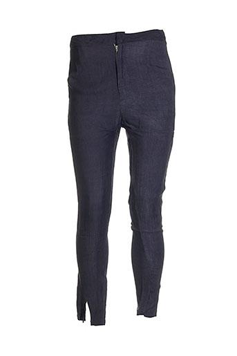 Pantalon casual gris AMBRE BABZOE pour femme