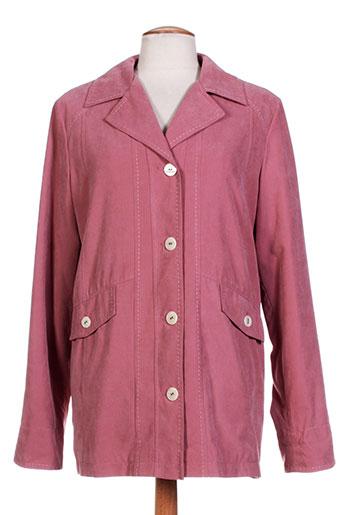 Veste chic / Blazer rose CONCEPT K pour femme