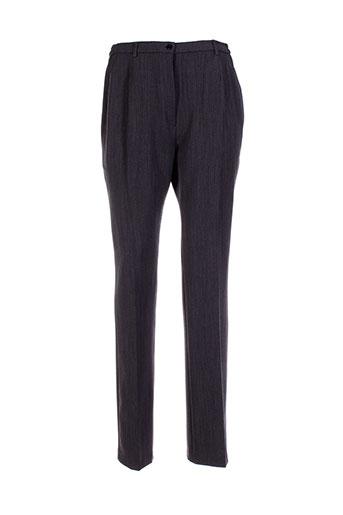 lisa et chesnay pantalons et citadins femme de couleur gris
