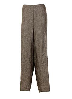 Pantalon casual marron BRAND pour femme