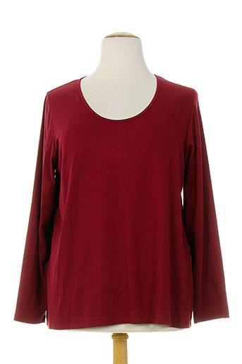 exelle t-shirts femme de couleur rouge