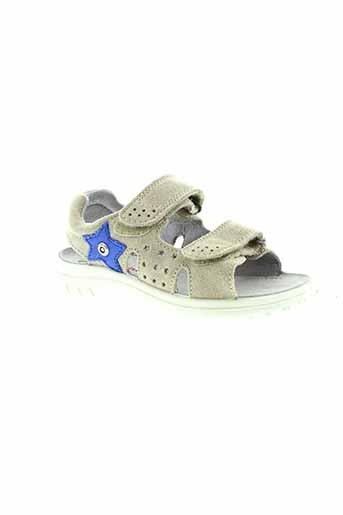 naturino sandales et nu et pieds enfant de couleur gris