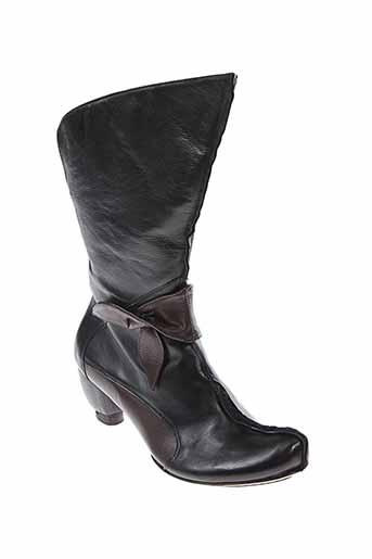 roda boots femme de couleur noir