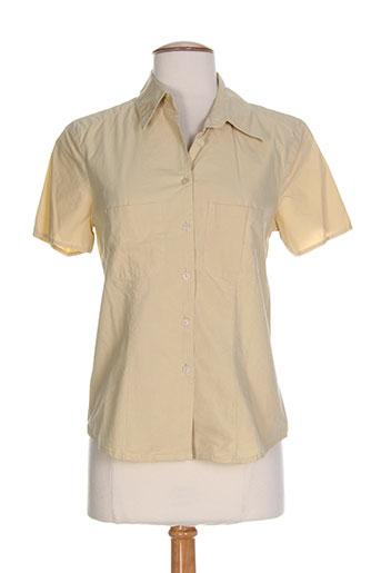terre EFFI_CHAR_1 mer chemises femme de couleur beige