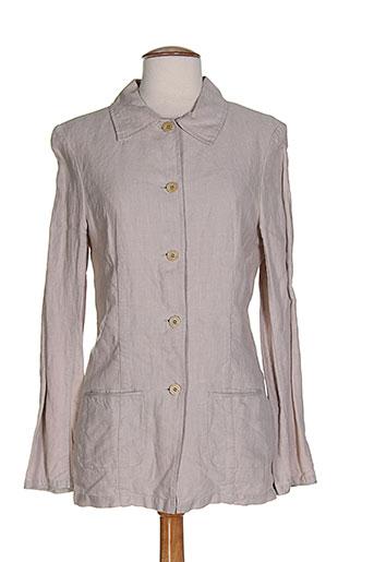 terre & mer chemises femme de couleur gris