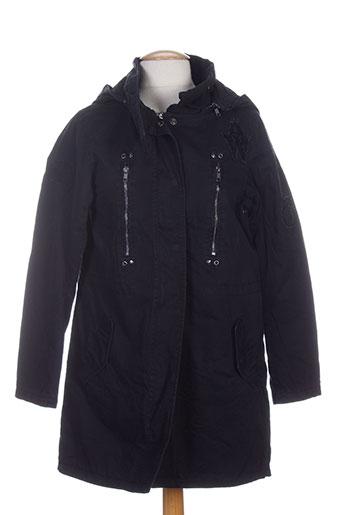 ddp manteaux fille de couleur noir