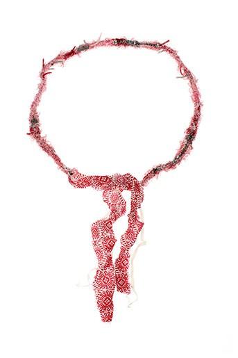 ambre et babzoe ceintures femme de couleur rouge
