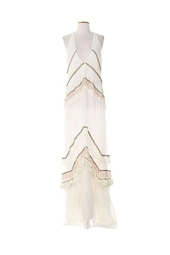 ambre babzoe robes femme de couleur beige