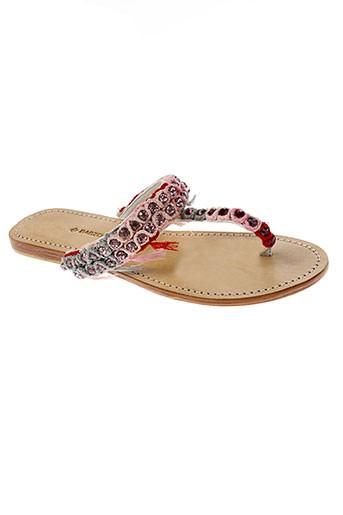 ambre babzoe chaussures femme de couleur rose