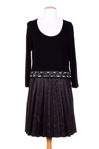 me-paris robes femme de couleur noir