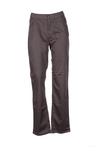 impaqt pantalons femme de couleur marron