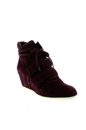 ash boots femme de couleur violet