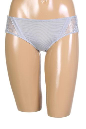 cotton club lingerie femme de couleur gris