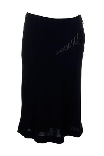 marie clemence jupes femme de couleur noir