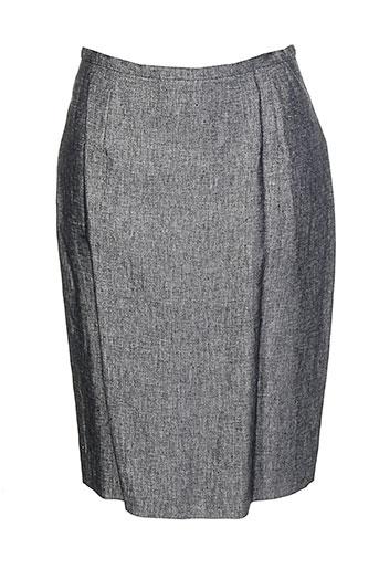 Jupe mi-longue gris FERAUD pour femme