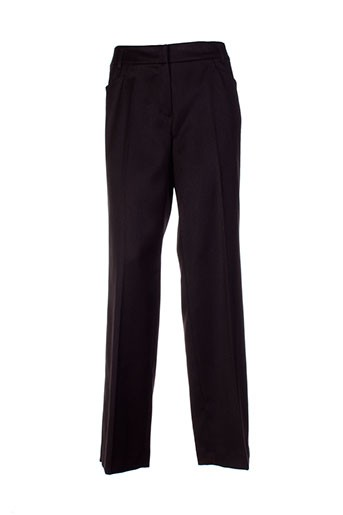 apanage pantalons femme de couleur noir