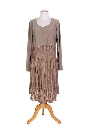 alain murati robes femme de couleur marron