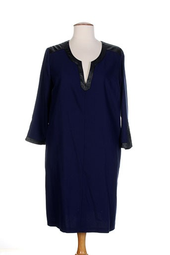 luuca robes femme de couleur bleu