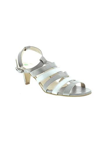 artika et soft sandales et nu et pieds femme de couleur gris
