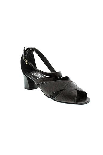 jmg et houcke sandales et nu et pieds femme de couleur marron