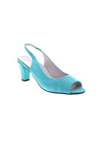 alexandria sandales et nu et pieds femme de couleur bleu