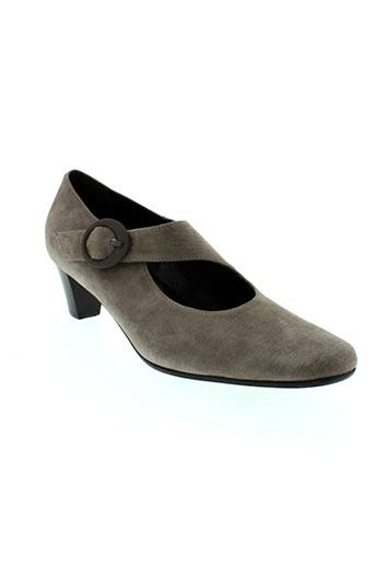 alex chaussures femme de couleur gris