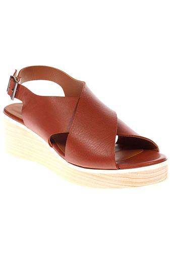 new lovers chaussures femme de couleur marron